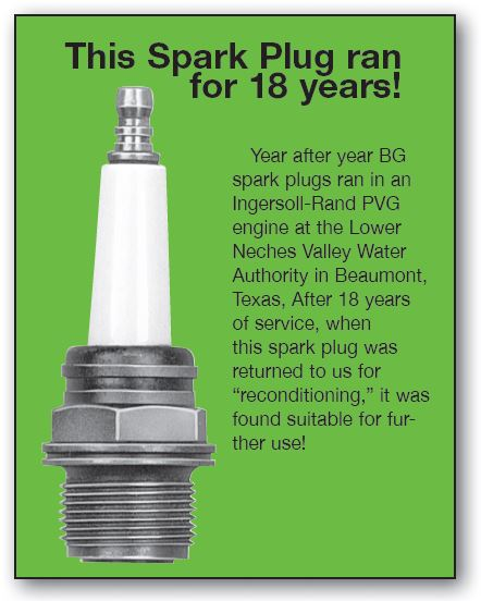 Reconditioned Spark Plug